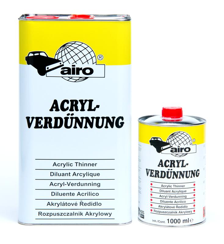 Airo Acryl Verdunningen
